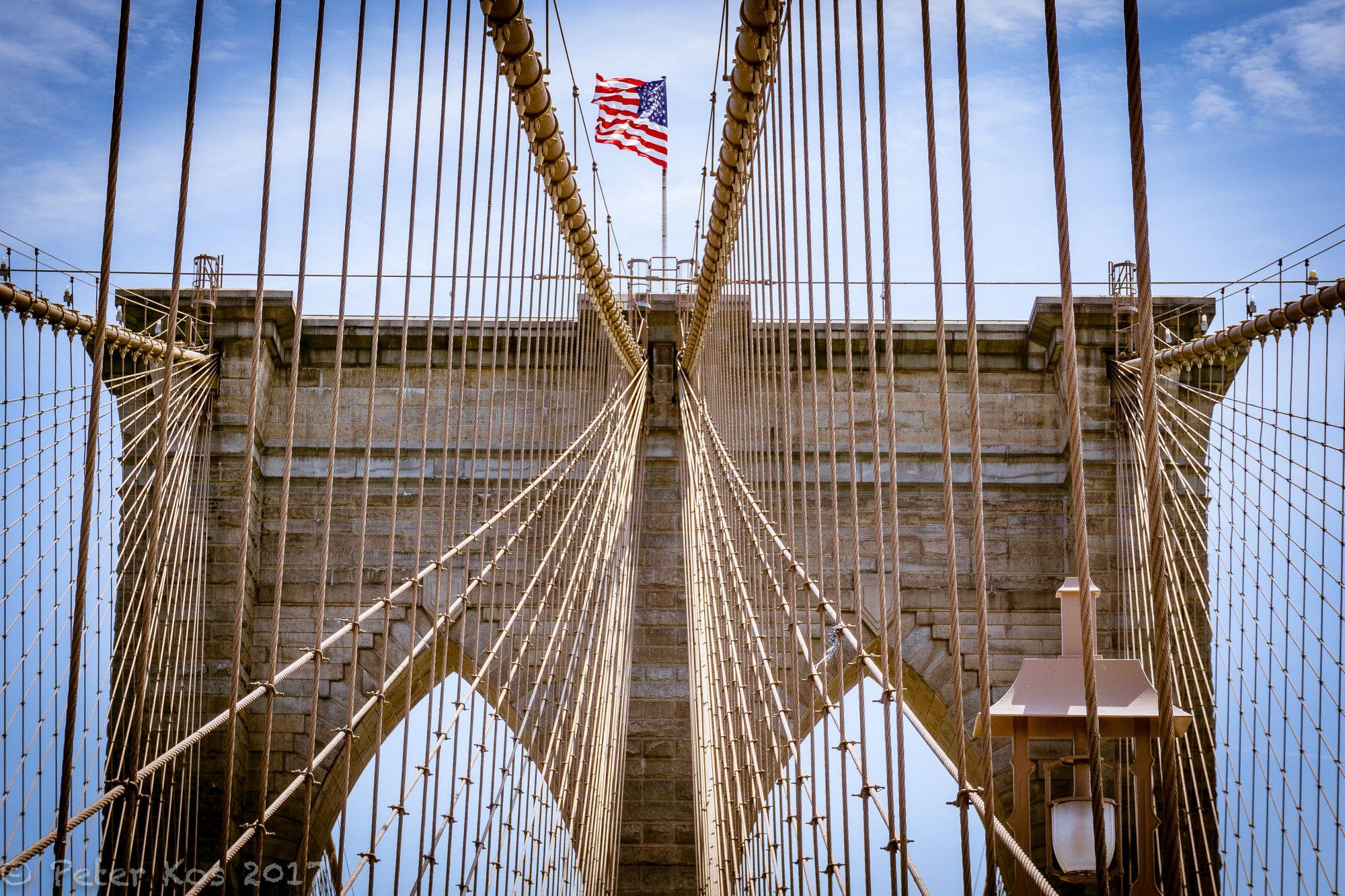 Brooklyn Bridge; 2017, NYC, USA. © Peter Kos